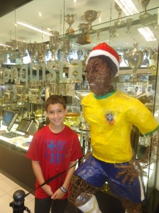 Hanging out with Pele