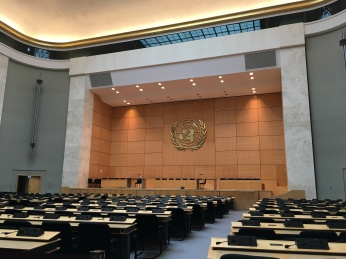 The Assembly Room at the United Nations Geneva