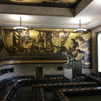 The Council Room at the United Nations Geneva