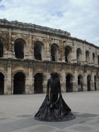 Roman Amphitheater in Nimes